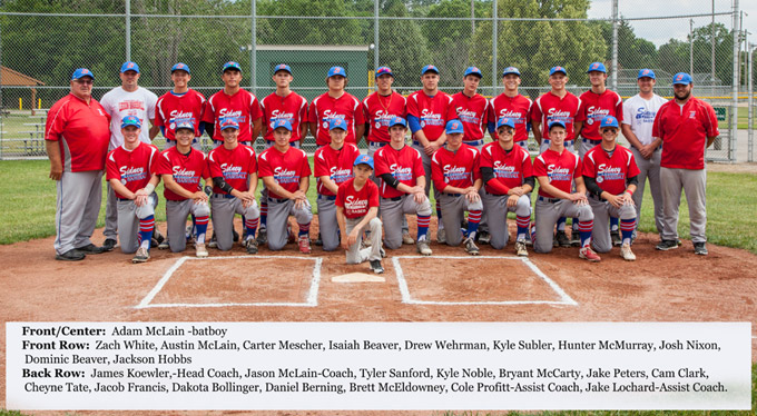 THE Sidney American Legion Post 217 Baseball Team