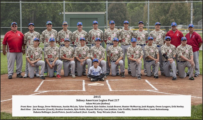 American Legion Post 271 baseball team